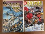 2 Issues Batman Comic #500 Knightfall & Batman Gotham Adventures Comic #38 DC Comics