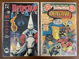 2 Issues Detective Comics Annual #2 & Detective Comics #493 DC Comics