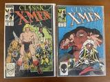 2 Issues Classic XMen Comic #10 & #21 Marvel Comics Copper Age Comics
