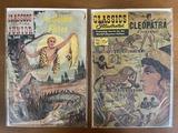 2 Issues Classics Illustrated Cleopatra Comic #161 & Classics Illustrated The Golden Fleece Comic #5