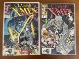 2 Issues Classic XMen Comic #22 & #23 Marvel Comics Copper Age Comics