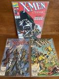 3 Issues Classic XMen Comic #24 # 32 & #49 Marvel Comics Copper Age Comics