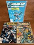 3 Issues Robocop Comic #2 # 4 & Robocop 2 #2 Marvel Comics The Future of Law Enforcement