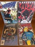 4 Issues Daredevil Comic #269 #295 #341 & Daredevil Father Comic #1 Marvel Comics