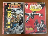 2 Issues The New Teen Titans Comic #24 & #60 DC Comics Copper Age A Lonely Place of Dying