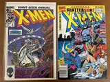 2 Issues X Men Annual Comic #9 & #16 Marvel Comics 1985 1992 Storm Loki