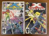 2 Issues X Factor Comic #16 & #18 Marvel Comics 1987 Copper Age Comics