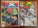2 Issues X Factor Comic #27 & X Factor Annual #2 Marvel Comics 1987 Copper Age Comics