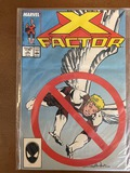 X Factor Comic #15 Marvel Comics 1987 Copper Age KEY Angel's Wings Amputated 1st Partial Team Appear