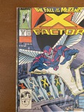 X Factor Comic #24 Marvel Comics 1988 Copper Age KEY 1st Cover & Second Appearance of Angel as The H