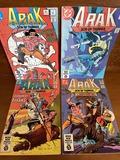 4 Issues Arak Son of Thunder Comic #4 #5 #6 & #9 DC Comics 1981 Bronze Age