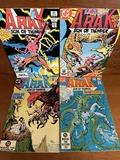 4 Issues Arak Son of Thunder Comic #16 #19 #25 & #26 DC Comics 1983 Bronze Age