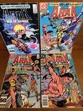 4 Issues Arak Son of Thunder Comic #31 #46 #48 & #49 DC Comics 1985 Bronze Age