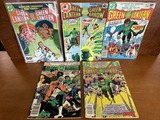5 Issues Green Lantern #142 #150 #189 #197 & Green Lantern Green Arrow #116 DC Comics