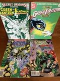 4 Issues Secret Origins #7 Green Lantern Corps #203 Green Lantern Corps Quarterly #5 Green Lantern #