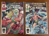 2 Issues Prince Namor The Sub Mariner Comic #3 #4 Marvel Comics 1984 Bronze Age