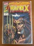 Marvel Comics Presents Comic #74 Marvel Comics Weapon X KEY Origin of Wolverine Experiment X