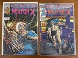 2 Issues Marvel Comics Presents Comics #80 #81 Marvel Comics Weapon X