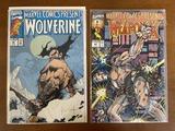 2 Issues Marvel Comics Presents Comics #82 #95 Marvel Comics KEY Origin of Wolverines Yellow & Blue