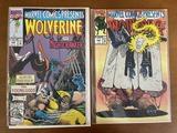 2 Issues Marvel Comics Presents Comics #100 #105 Marvel Comics Wolverine Ghost Rider Nightcrawler