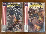 2 Issues Iron Man House of M Comic #2 & #3 Marvel Comics Pak Lee Dream Engine