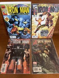 4 Issues The Invincible Iron Man Comic #15 #20 #25 #431 Marvel Comics Nitro