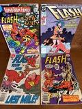 4 Issues The Flash Comic #247 #331 #42 & Super Team Family #15 DC Comics Bronze Age
