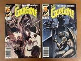 2 Issues The Gargoyle Comic #2 #3 Marvel Comics 1985 Bronze Age Comics