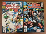 2 Issues The All Star Squadron Comic #3 & #4 DC Comics 1981 Bronze Age KEY 1st Appearance of Dragon