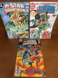 3 Issues The All Star Squadron Comic #9 #11 & #18 DC Comics 1982 & 1983 Bronze Age