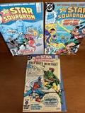 3 Issues The All Star Squadron Comic #40 #42 & #43 DC Comics Bronze Age Comics