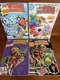 4 Issues The All Star Squadron Comic #48 #57 #58 & #65 DC Comics Bronze & Copper Age Comics