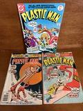 3 Issues Plastic Man Comics #12 #13 & #17 DC Comics 1976 $ 1977 Bronze Age Comics
