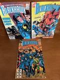 3 Issues Blackhawk Comic #251 #263 & #267 DC Comics Bronze Age Comics