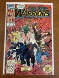 The New Warriors Comic #1 Marvel Comics 1990 Copper Age KEY Origin of the New Warriors