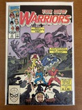 The New Warriors Comic #2 Marvel Comics 1990 Copper Age KEY 1st Appearance of Silhouette & Midnight'