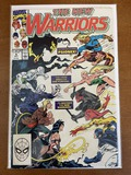 The New Warriors Comic #4 Marvel Comics 1990 Copper Age KEY 1st Team Appearance of Psionex