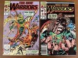 2 Issues The New Warriors Comic #3 & #5 Marvel Comics 1990 Copper Age Comics