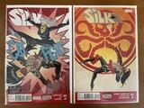 2 Issues Silk Comic #2 & #3 Marvel Comics Secret Wars Last Days of Silk