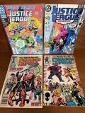 4 Issues Squadron Supreme Comic #2 & #4 Justice League America #39 Justice League International #61