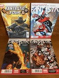 4 Issues Fantastic Four Comic #2 #3 #12 and #607 Marvel Comics Spiderman Black Panther