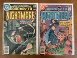 2 Issues Doorway to Nightmare Comic #4 & #5 DC Comics 1978 Bronze Age KEY Final Issue