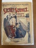 Secret Service Magazine #1328 Frank Tousey New Yoek 1924 Golden Age