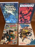 4 Issues Frank Miller's Ronin Book #1 Swamp Thing Possessed By Arcane All Star Comics #63 Doc Savage