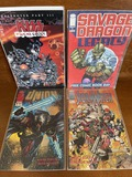 4 Issues KISS Psycho Circus #12 Savage Dragon Legacy #1 Union #1 Stormwatch #1 KEY 1st Issues Image