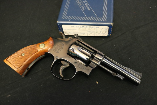 1971 Smith & Wesson Model 18-3 Combat Masterpiece 22lr Factory Fired Lnib