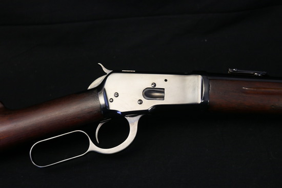 Very Desirable 1914 Pre-war Winchester 1982 Saddle Ring Carbine In 25-20