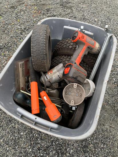 Qty of Misc Drills , Saws & parts
