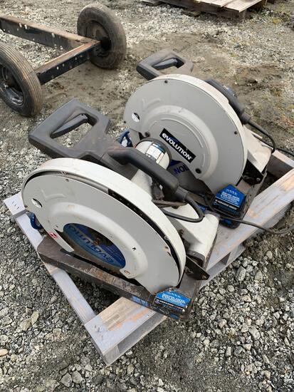 (2) Evolution Steel Cutting EVOSaw