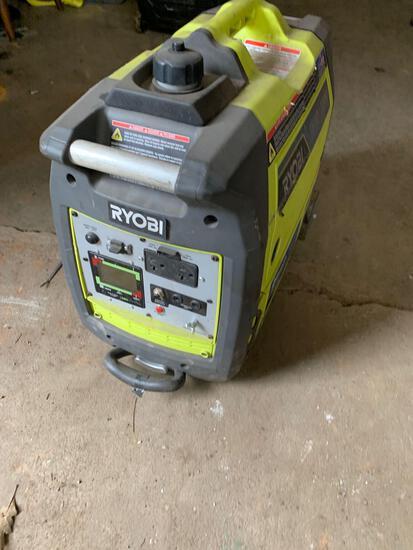 RYOBI Bluetooth 2,300 Starting Watt Super Quiet Gasoline Powered Digital Inverter Generator